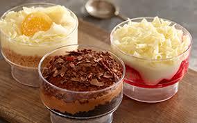 Desserts Menu Item List