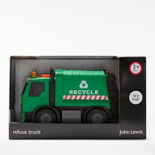 John Lewis & Partners Refuse Lorry, Small At John Lewis & Partners
