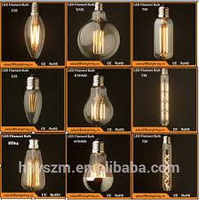 china fashion design half chrome silver mirror led filament bulb