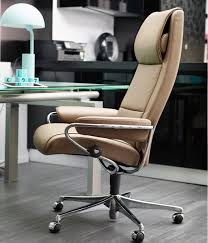 Stressless Mayfair Einheitsgröße Home Office Base Leder Paloma Khaki