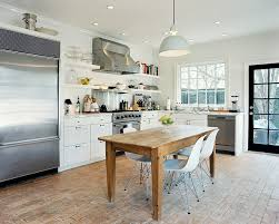 Rustic Kitchen Flooring Great 30 Photos Design Ideas Remodel