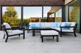 canape d exterieur design salon d extérieur en aluminium chiki