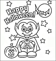 Pretentious Idea Halloween Coloring Pages