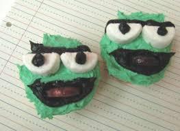 Oscar The Grouch Pumpkin Decorating by Oscar The Grouch Cupcakes Justjenn Recipes Justjenn Recipes