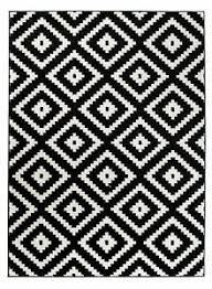 details zu designer teppich schwarz weiß geometrische modern muster wohnzimmer esszimmer