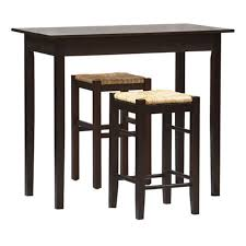 100 Bar Height Table And Chairs Walmart Linon Tavern 3Piece Counter Set Com