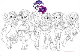 1502330256 My Little Pony Coloring Pages Rainbow Dash Equestria