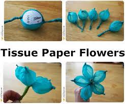 Diy Tissue Paper Flowers Puff Balls Party Decor