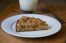Peach Jam Crumb Cake