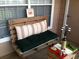 Pallet Bench For Indoor And Outdoor