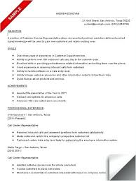 Resume Examples For Call Center Supervisor Also Simple Samples