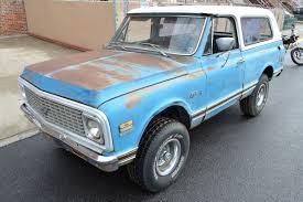 100 K5 Truck AllSeason Fun 1972 Chevrolet Blazer