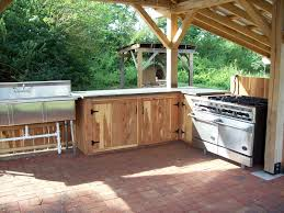 Build Outdoor Kitchen Cabinets 2017 And Lowes Admirable