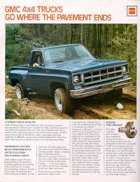 1977 Chevrolet And GMC Truck Brochures / 1977 GMC 4WD-02.jpg 1977 Gmc 4x4 My Fantasy Fleet Pinterest Gmc And Cars Junkyard Find Rally Stx Van The Truth About Sarge Pickup Classic Wkhorses Sprint Caballero Wikipedia Another Mikeo37 Sierra 1500 Regular Cab Post Classics For Sale On Autotrader Super Custom 496 Pickup Truck Build Project Youtube Grande 1947 Present Chevrolet High Sale 4x4 Custom_cab Flickr Questions How Does One Value A Classic