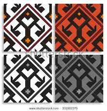 Turkish Carpet Vector Pattern