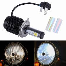 new clear headlight h4 40w led light bulb headl for
