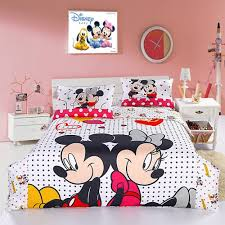 low price mickey mouse comforter sets with kids bedding sets for