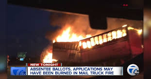 Officials Investigating If Absentee Ballots Were On USPS Truck That ... Postal Worker Saves Mail Moments Before Fire Destroys Truck In Mobile Mailman From Burning Service Delivery Truck Matchbox Cars Wiki Fandom Powered Six Postal Trucks Damaged Chelsea Garage Abc7nycom Usps Driver Killed Crash After Vehicle Erupts Ken Blackwell How The Continues To Burn Money The Replacement For Grumman Llv Ar15com Semitruck Fire At Goleta Post Office Plant Edhat Poland Circa 1985 A Memorial Stamp Printed In Poland Flames Carrier Smells Gas While
