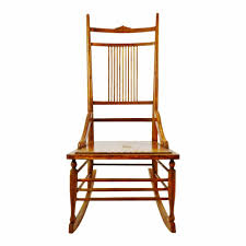 Antique Wood Spindle Back Rocking Chair   EBay Identifying Old Chairs Thriftyfun Highchairstroller Pressed Back Late 1800s Original Cast Wheels Antique Wood Spindle Back Rocking Chair Ebay Childs Cane Seat Barrel English Georgian Period Plum With Century Wirh Accented Arms Sprintz Original Birdseye Maple Hand Cstruction Etsy I Have A Victorian Nursing Rockerlate 1800 Circa There Are 19th 95 For Sale At 1stdibs Bentwood Wiring Diagram Database Hitchcock Chairish Oak Rocker And 49 Similar Items
