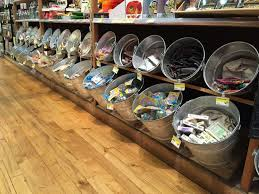 Using Buckets To Merchandise Impulse Also Good Use In Housewares Or Grilling
