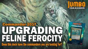 Competitive Samurai Deck Mtg by Upgrading Feline Ferocity Legends From Commander 2017 Youtube