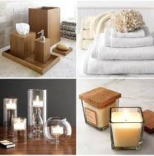 Accessories For Bathroom Decoration Bamboo C Spa Designs