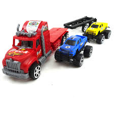 100 Semi Truck Toy Buy Friction Powered And Trailer Hauling 2