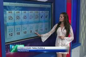 Weather Girl Reports In Sheer Dress