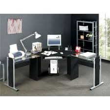 corner computer desk buy quality white glass corner computer desk