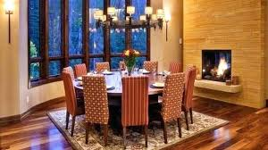 Dining Room Round Tables Seat 12 Large