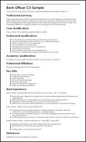 Summary Resume Sample Bank Officer Examples For Sales And Marketing