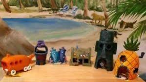 Spongebob Aquarium Decor Set by Spongebob U0026 Friends U0026 Houses 6 Pc Aquarium Set Us Seller