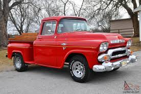 100 Stepside Trucks 1959 GMC Shortbed Truck