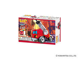 LaQ Hamacron Constructor MINI FIRE TRUCK - 1 Model, 38 Pieces