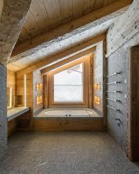 natursteinbad mit viel holz und stein haus interieu design