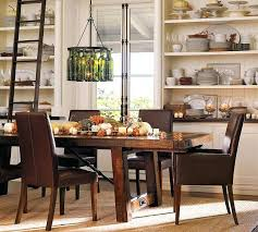 Pottery Barn Contemporary Dining Room Table Decor Ideas