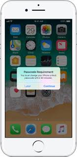 Use a passcode with your iPhone iPad or iPod touch Apple Support