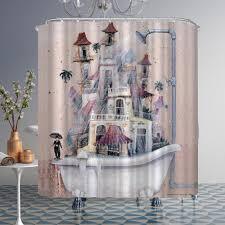 dusche vorhang englisch buchstaben strand stein druck dusche vorhang polyester dusche vorhang wasserdicht dusche badewanne abdeckung