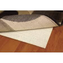 cushioned rug pad cream target