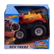 100 Hot Wheels Monster Truck Toys S 143 Scale Rev Tredz Loco Punk
