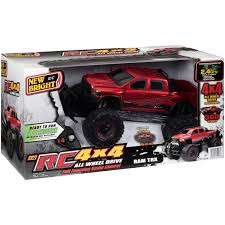 100 New Bright Rc Trucks 112 Scale Radio Control 4x4 Ram Trx Truck Red