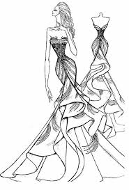 Drawn Gown Evening Dress 4