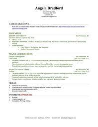 College Graduate Resume Sample
