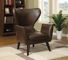 Coaster Accent Seating Transitional Accent Chair ... Coaster Fine Fniture 902191 Accent Chair Lowes Canada Seating 902535 Contemporary In Linen Vinyl Black Austins Depot Dark Brown 900234 With Faux Sheepskin Living Room 300173 Aw Redwood Swivel Leopard Pattern Stargate Cinema W Nailhead Trimming 903384 Glam Scroll Armrests Highback Round Wood Feet Chairs 503253 Traditional Cottage Styled 9047 Factory Direct