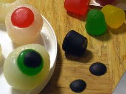 Halloween Eyeball Jello Molds by Halloween Jell O Shots