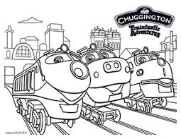 Chuggington Coloring Sheet Submit to our FB page for a chance to