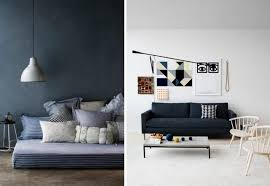 chambre style marin des intérieurs bleu marine joli place