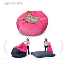 Bean Bag Chairs That Turn Into Beds Bed On Giant Bags