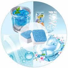 1 tab umweltfreundliche badezimmer zubehör set waschmaschine reiniger waschmaschine reinigung waschmittel brause tablet washer reiniger