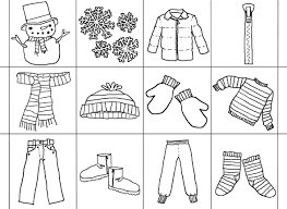 Clothes Coloring Page Refrence Pag New Clothing Pages Printables